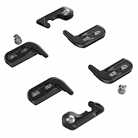 Union SPLITBOARD CLIPS AND HOOKS BLACK