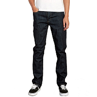 RVCA HEXED DENIM DARK INDIGO