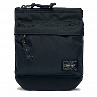 PORTER YOSHIDA FORCE SHOULDER POUCH BLACK