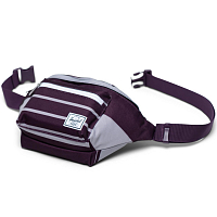 Herschel SEVENTEEN PREP STRIPE BLACKBERRY WINE