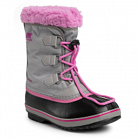 Sorel YOOT PAC NYLON Chrome Grey, Or