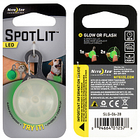 Nite Ize SPOTLIT LED CARABINER LIGHT GREEN