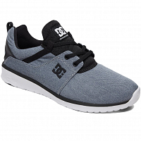 DC Heathrow TX SE M Shoe HEATHER BATTLESHIP