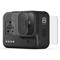 GoPro HERO8 Tempered Glass Lens + Screen Protectors ASSORTED