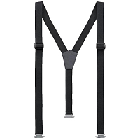 NORRONA SUSPENDERS BLACK