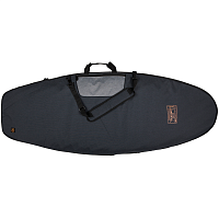 Ronix DEMPSEY - SURF CASE W/3-D FIN BOX Charcoal / Orange