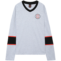 Spitfire L/S GOON HEATHER GREY/ BLACK/RED