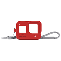 GoPro HERO8 (Sleeve +  Lanyard) RED