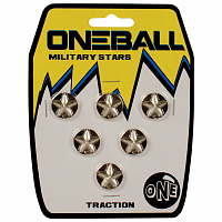 Oneball TRACTION-MILITARYSTARS6pcs ASSORTED
