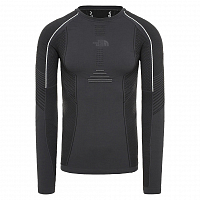 The North Face M PRO L/S CR N ASP GREY/BLACK (MN8)