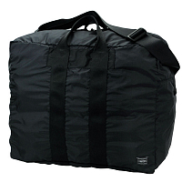 PORTER YOSHIDA FLEX 2WAY DUFFLE BAG(S) BLACK