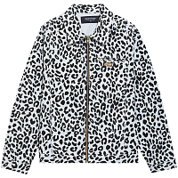 NOON GOONS LEOPARD DENIM JACKET BWLE
