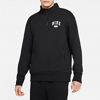 Nike M NK SB MARCH RADNESS MOCKNECK BLACK/WHITE