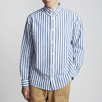 Element BOLD LS BLUE STRIPES