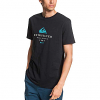 Quiksilver FIRSTFIRESS M TEES BLACK
