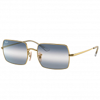 Ray Ban Rectangle ARISTA/CLEAR GRADIENT BLUE