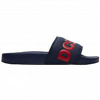 DC DC Slide M Sndl NAVY/RED