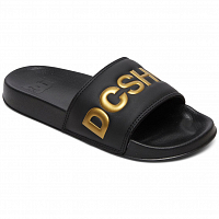 DC DC SLIDE SE J SNDL BLACK/GOLD