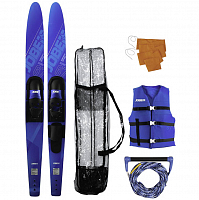 Jobe ALLEGRE COMBO SKIS PACKAGE BLUE