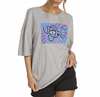 Volcom STONE SPLIF TEE HEATHER GREY