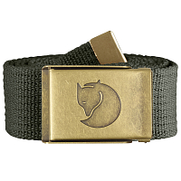 Fjallraven CANVAS BRASS BELT 4 CM MOUNTAIN GREY