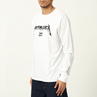 Billabong AI METALLICA LS White