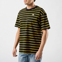 Nike M NK SB TEE YD STRIP BLACK/UNIVERSITY GOLD