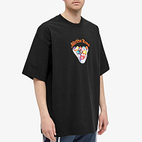MARTINE ROSE Brittle T-shirt BLACK SNOOKER
