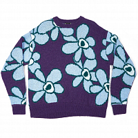 Perks And Mini DR. Octagon Knitted Jumper BLUE FLOWERS