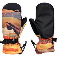 Quiksilver MISSION MITT M GLOV BARN RED MATTE PAINTING