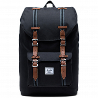 Herschel Little America Mid-Volume BLACK/BLACK/TAN