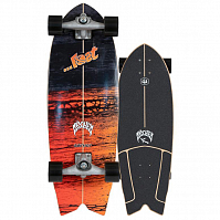 Carver CX PSYCHO KILLER SURFSKATE COMPLETE RAW