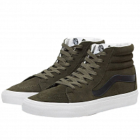 Vans UA SK8-HI (Suede) forest night/true white