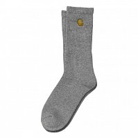 Carhartt WIP CHASE SOCKS GREY HEATHER / GOLD