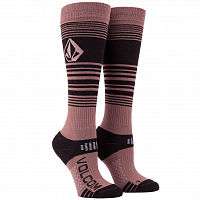 Volcom TUNDRA TECH SOCK ROSE WOOD