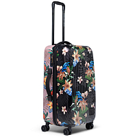 Herschel TRADE MEDIUM SUMMER FLORAL BLACK/ASH ROSE