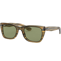 Ray Ban CARIBBEAN STRIPED YELLOW/GREEN BOTTLE