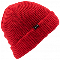 Volcom SWEEP LINED BEANIE RED