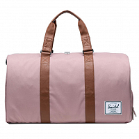 Herschel Novel ASH ROSE/TAN SYNTHETIC LEATHER