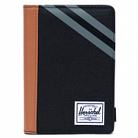 Herschel RAYNOR PASSPORT HOLDER RFID BLACK/SYNTHETIC LEATHER