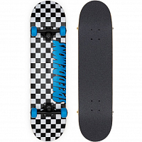 SPEED DEMONS Checkers Complete Black/Blue
