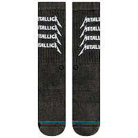 Stance METALLICA STACK BLACK