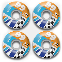 Footwork CRESTA ROUND SHAPE ASSORTED