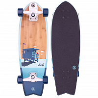 Z-Flex Bamboo Surfskate Fish 31