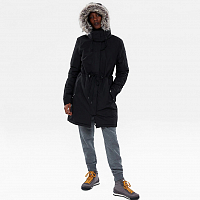 The North Face W ZANECK PARKA TNF BL/VI WHITE (LQ6)