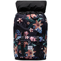 Herschel Little America Mid-Volume SUMMER FLORAL BLACK
