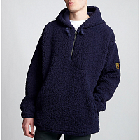 Element BIG SHEARLING PO ECLIPSE NAVY