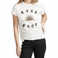 RVCA SUNSHIEN SS ANTIQUE WHITE