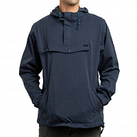 RVCA ON POINT ANORAK FEDERAL BLUE