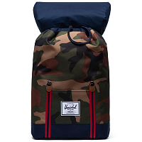 Herschel RETREAT WOODLAND CAMO/PEACOAT/TAN